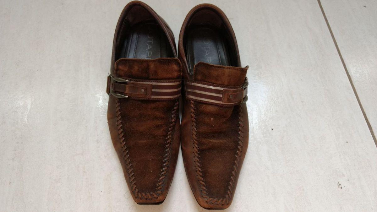 ccd0438f8 Sapato Social Jotape Usado Tam 39 | Sapato Masculino Jotape Usado ...