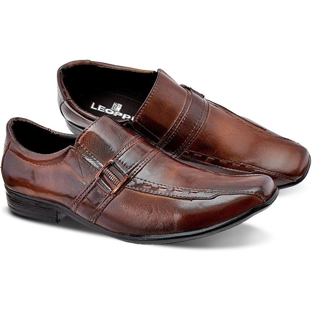 98fcdb449 Sapato Social Masculino Couro Legítimo Tam. 39 | Sapato Masculino Leoppé  Nunca Usado 24965847 | enjoei
