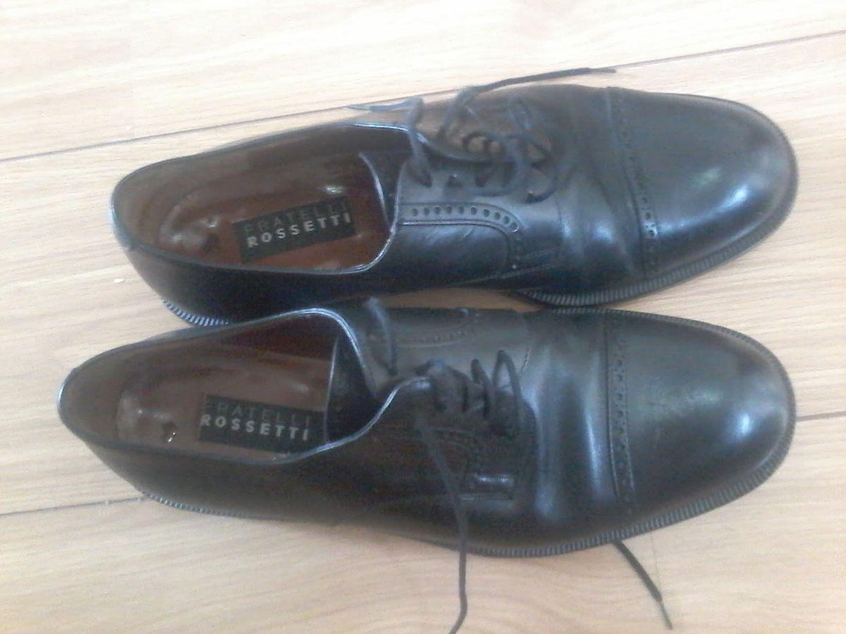 67b1027803 sapato social masculino de couro - fratelli rossetti - sapatos fratelli  rossetti