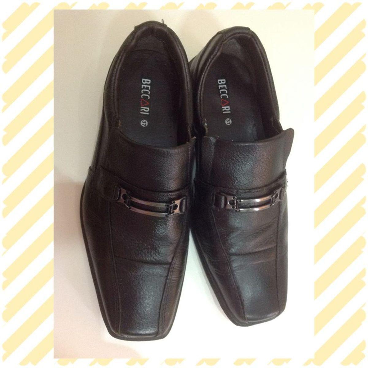 ddf0e337e Sapato Social Masculino Juvenil Tam 37 | Sapato Masculino Usado 16294352 |  enjoei