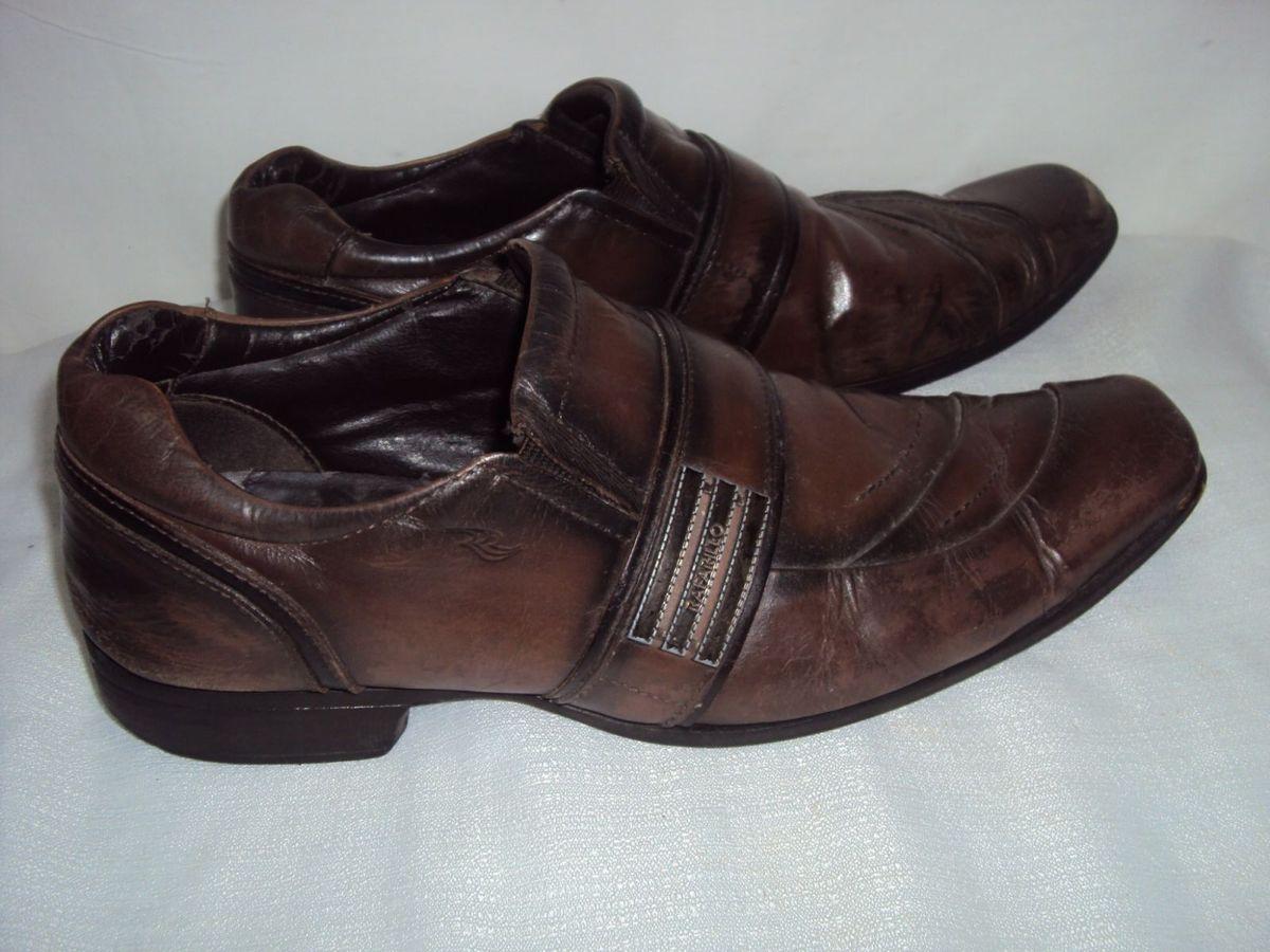 038cceeda sapato social masculino marrom rafarillo meia vida tam 43 - sapatos  rafarillo