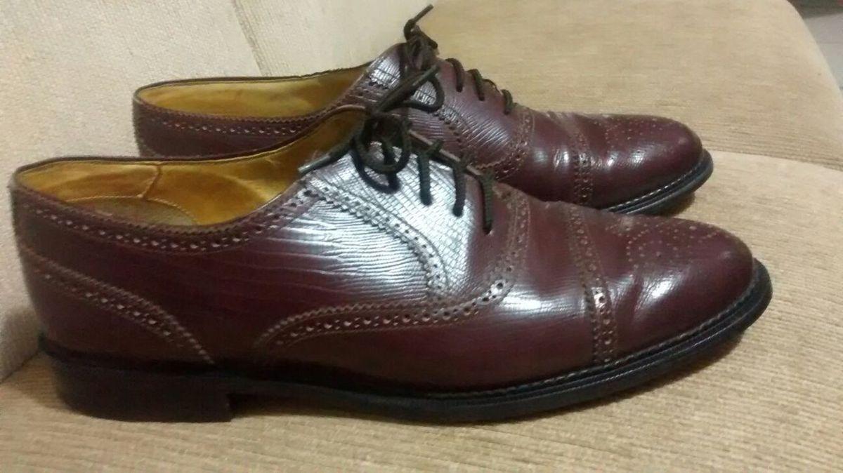 1022d35e7 Sapato Social Terra | Sapato Masculino Terra Vips Collection Usado ...