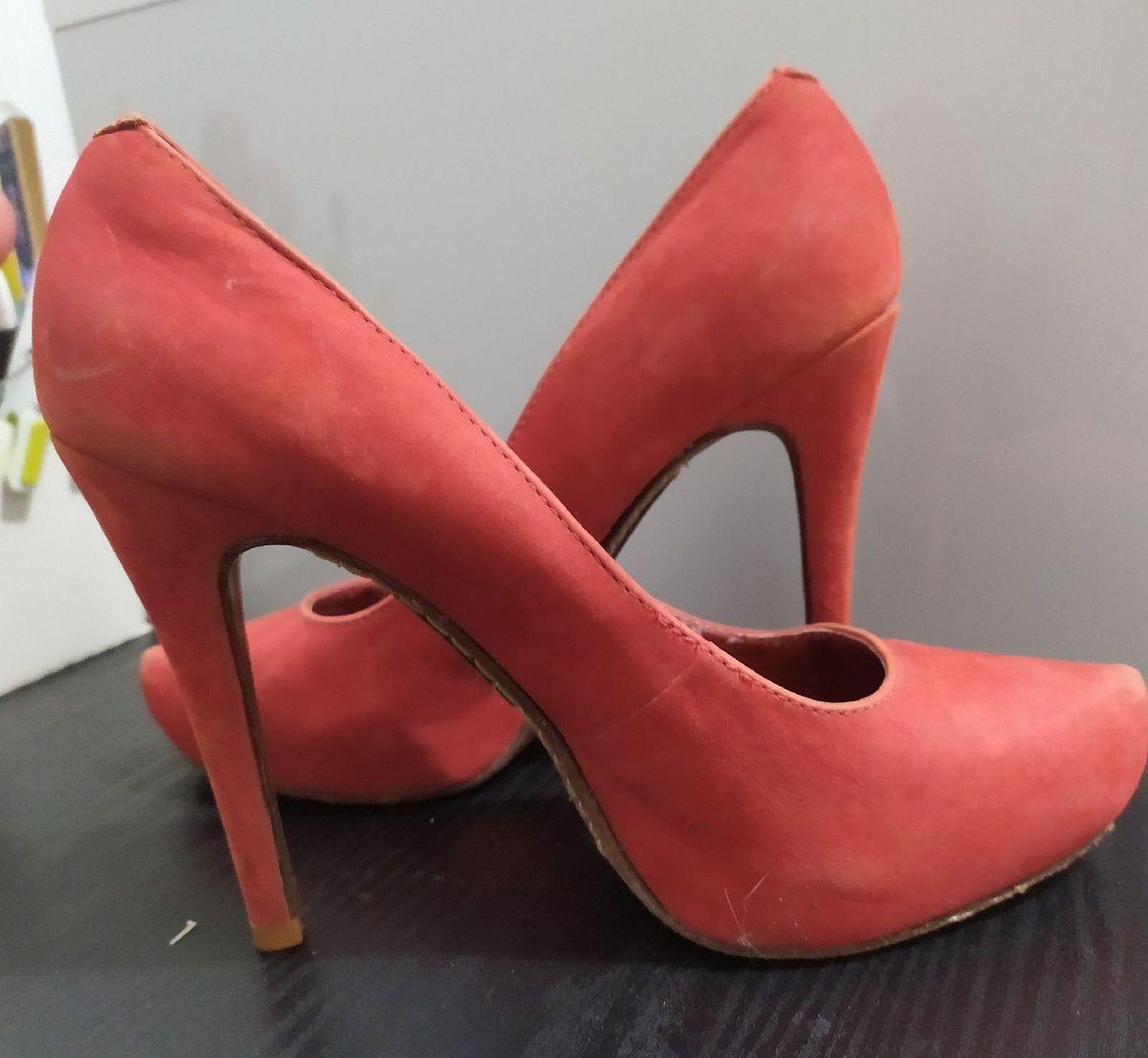 sapato vermelho schutz - sapatos schutz
