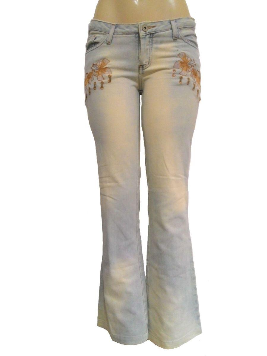 d247d72fe sawary strech - calça jeans feminina - tamanho 40 - r0514 - calças sawary