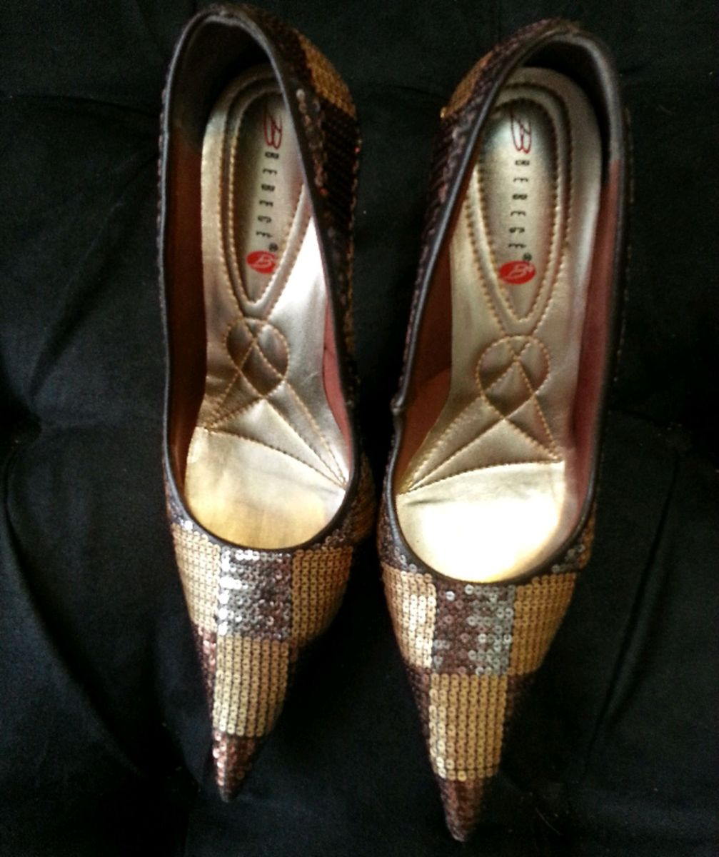 29a07c918d scarpin 3 tons de metal! só riqueza! - sapatos bebece