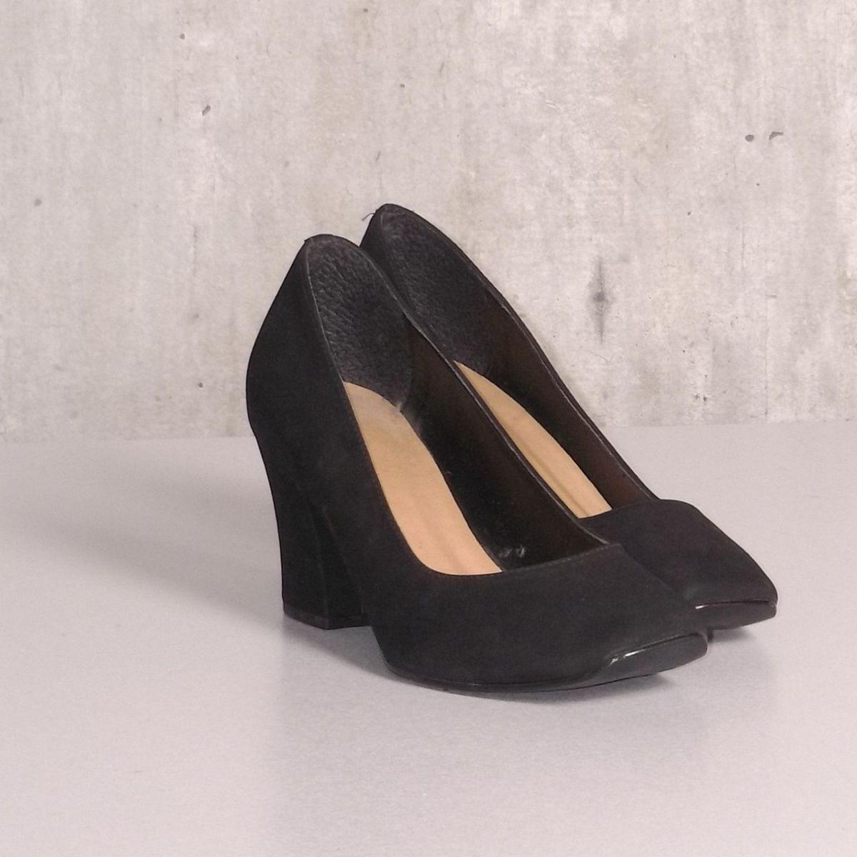 2144e50c2 Scarpin Preto Elegante | Sapato Feminino Andarela Usado 30082015 | enjoei