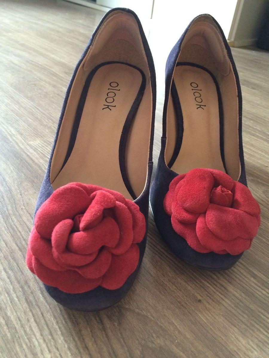 scarpin rosa - sapatos olook