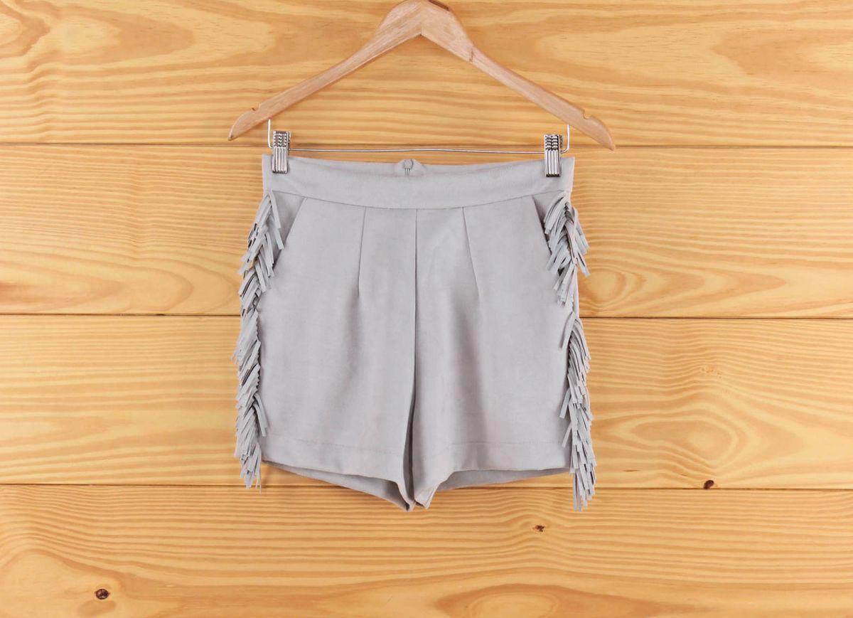 short - cinza - short sem marca