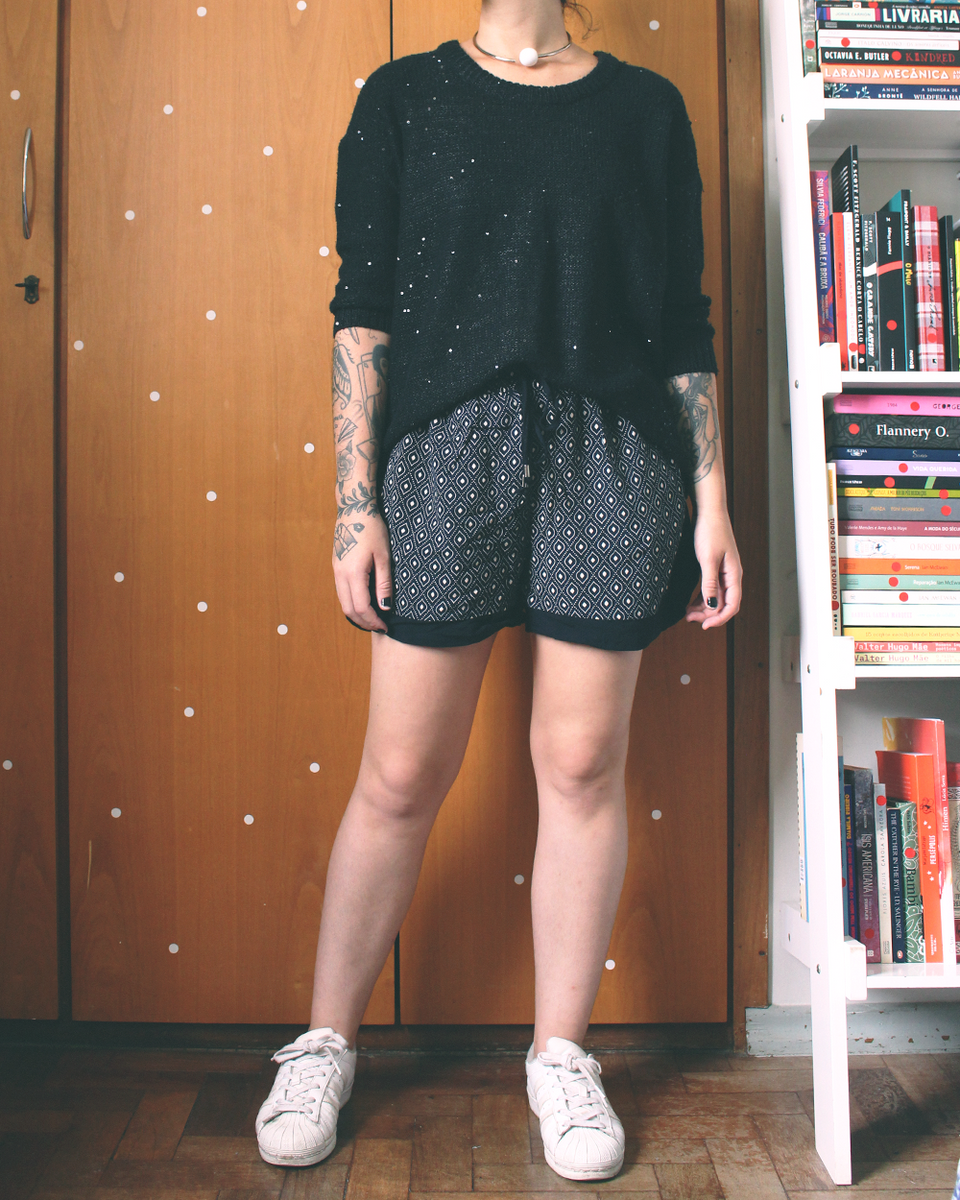 short estampadinho - short marfinno