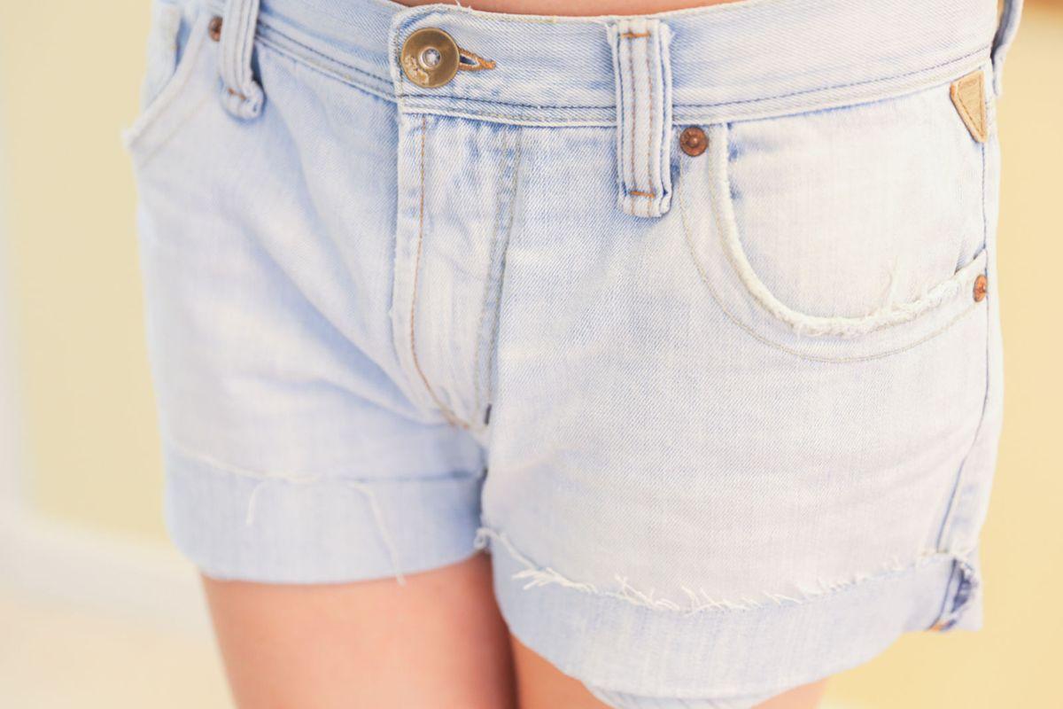 short jeans boyfriend - short khelf