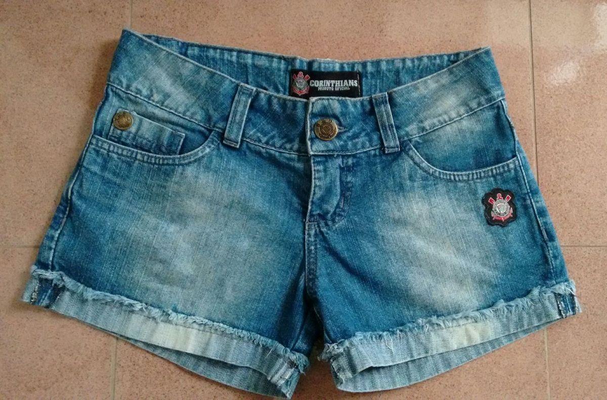 short jeans do corinthians - short oficial corinthians 36e0cf02271c5