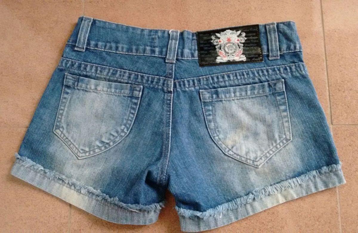 Short Jeans do Corinthians  a14b688c71318