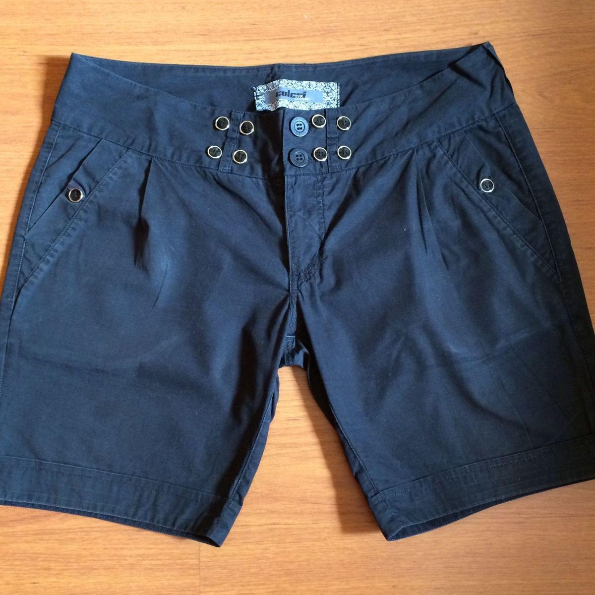 19983d785 Short Preto Colcci | Shorts Feminino Colcci Usado 20174092 | enjoei