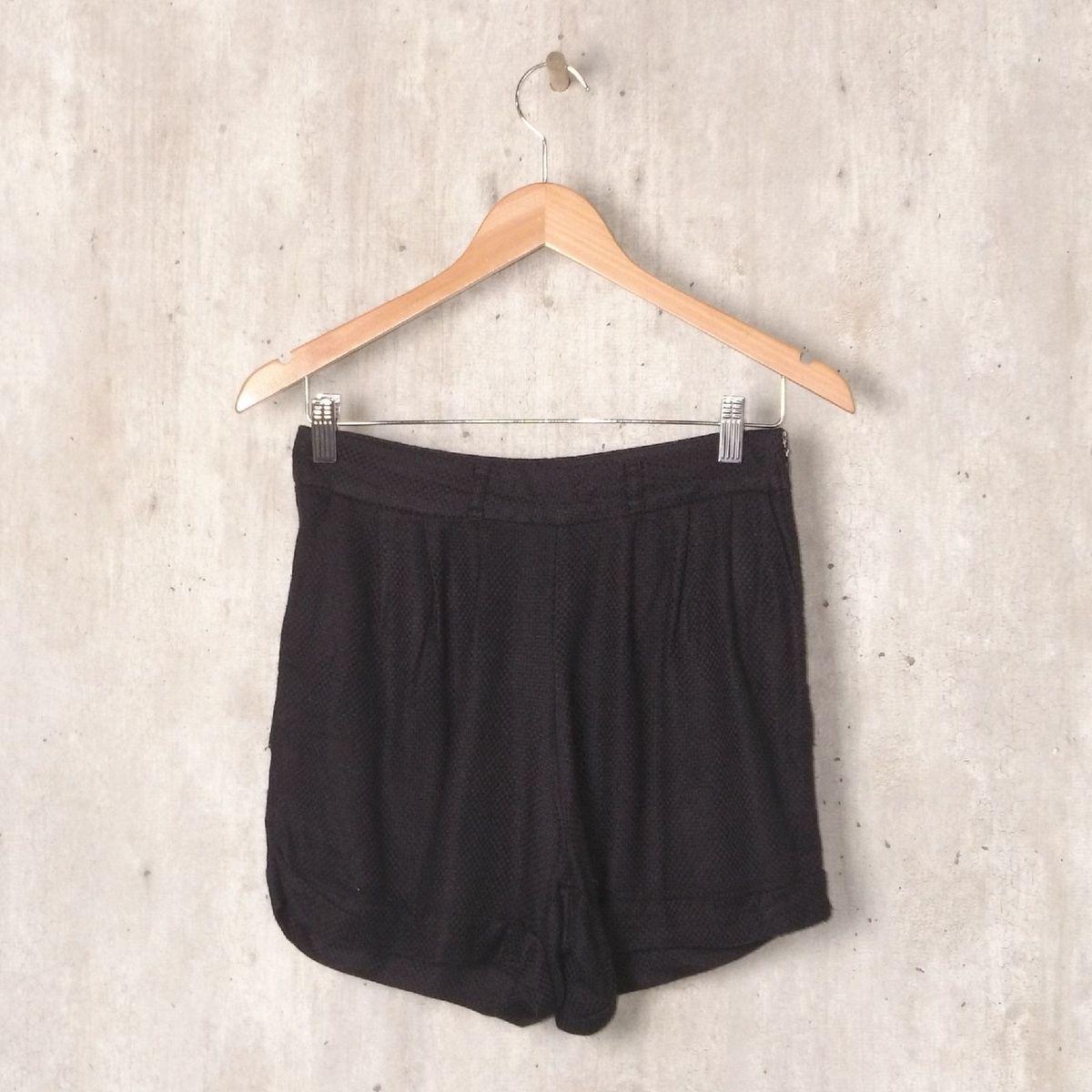 266e27614 Short Preto Colcci | Shorts Feminino Colcci Usado 32957175 | enjoei