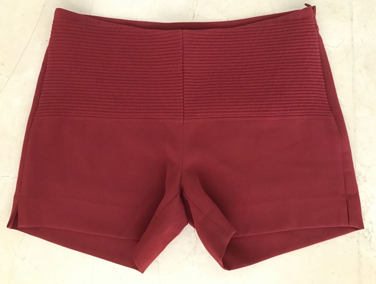 shorts bordeaux spezzato - short spezzato