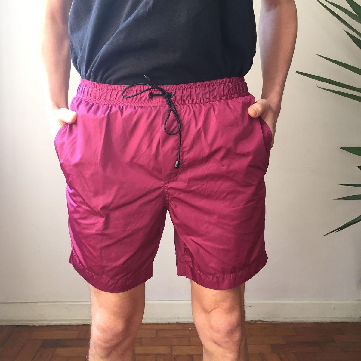 shorts egrey nylon - bermudas egrey