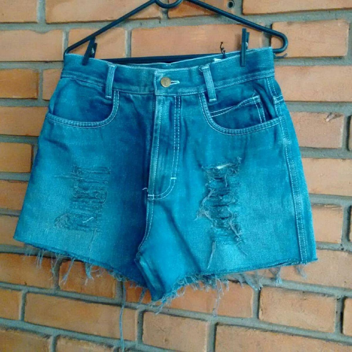 shorts jeans destroyed - short gramprix