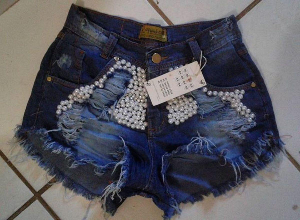 96b1fd9016 Shorts Jeans No Atacado Minimo 5 Peças