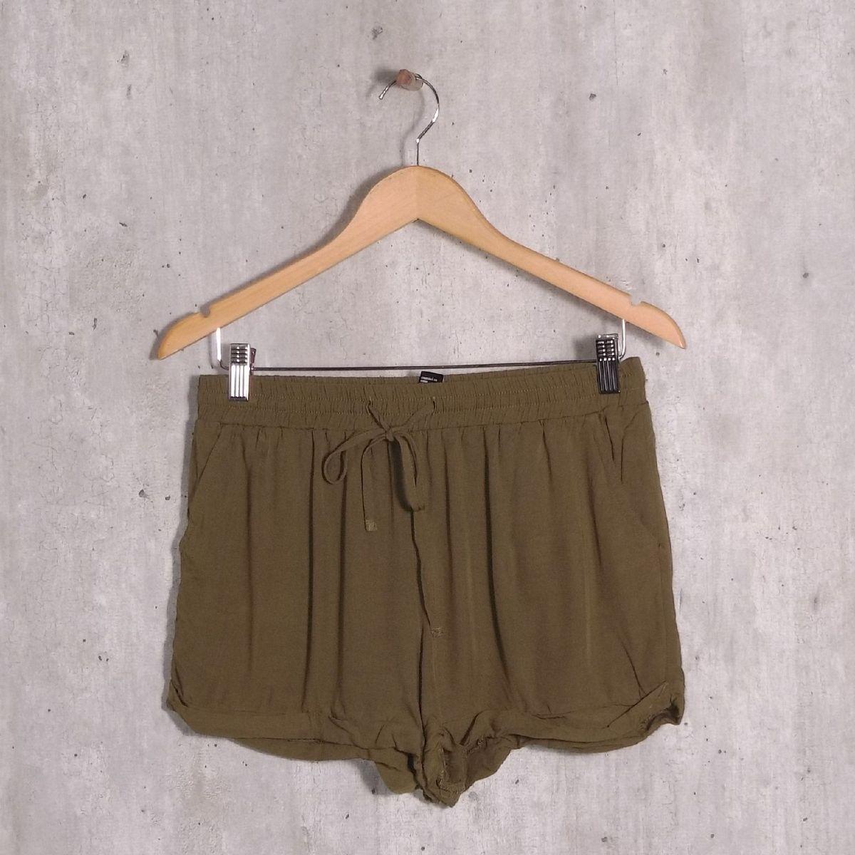 shorts verde forever 21 - short forever21