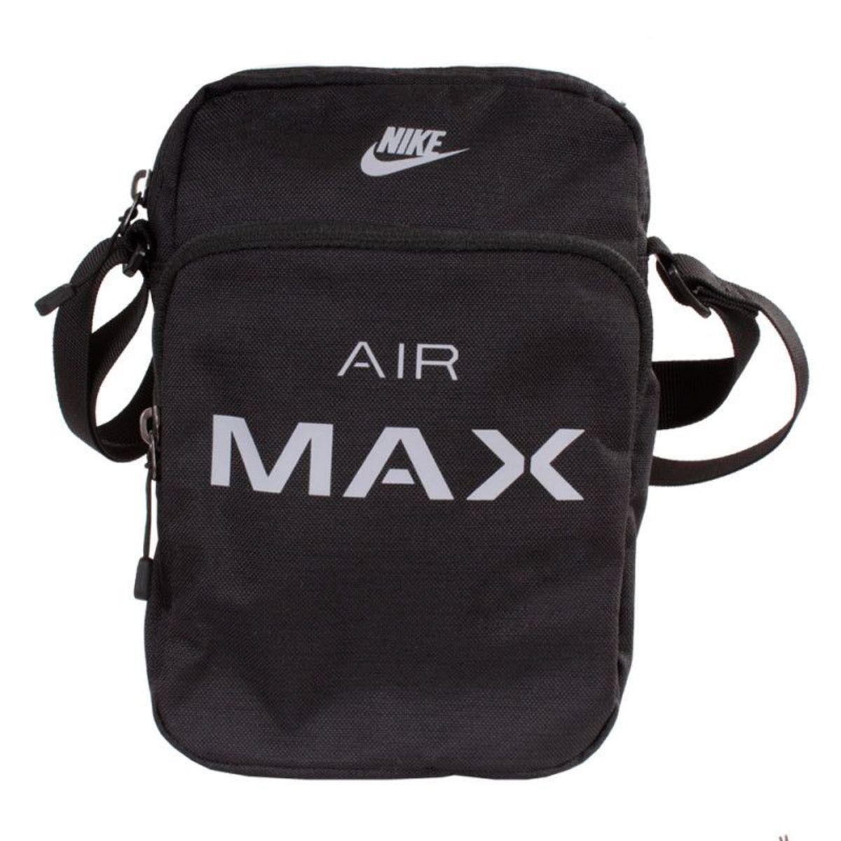 e03f72991 Shoulder Bag Nike Air Max Pochete Preto Original | Bolsa Masculina ...