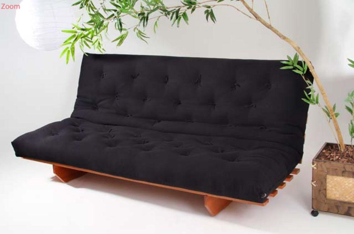 cb651aab4 Sofa Cama Movel Tsuruya Usado 15643534 Enjoei
