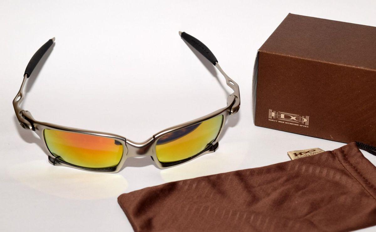 squared prata fosco, lentes vermelhas espelhadas polarizadas - óculos oakley e8dd2e2d36