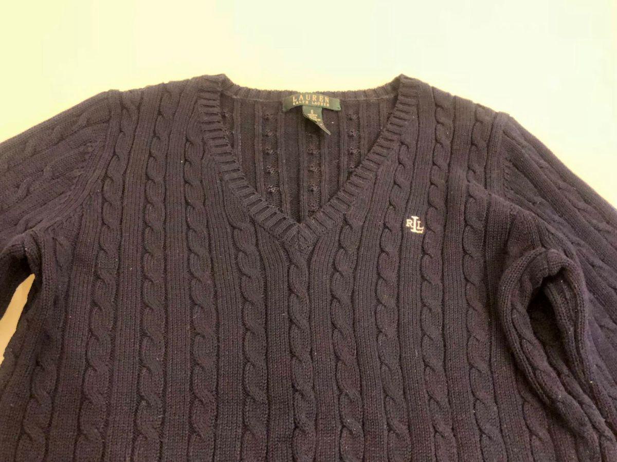 844e8a9232 suéter   casaco de linha polo ralph lauren p - casaquinhos polo ralph lauren