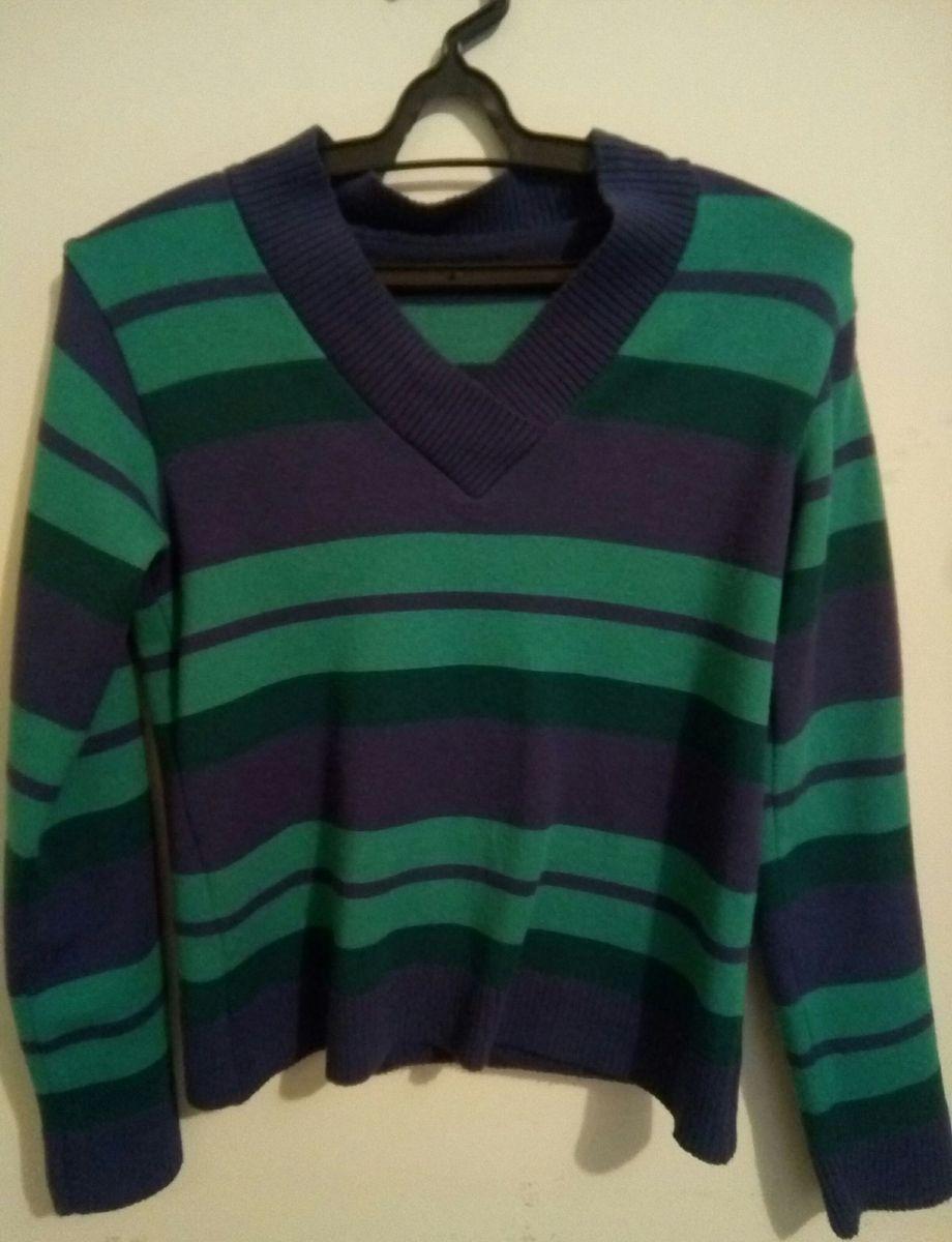 suéter de tricô - casaquinhos sem marca