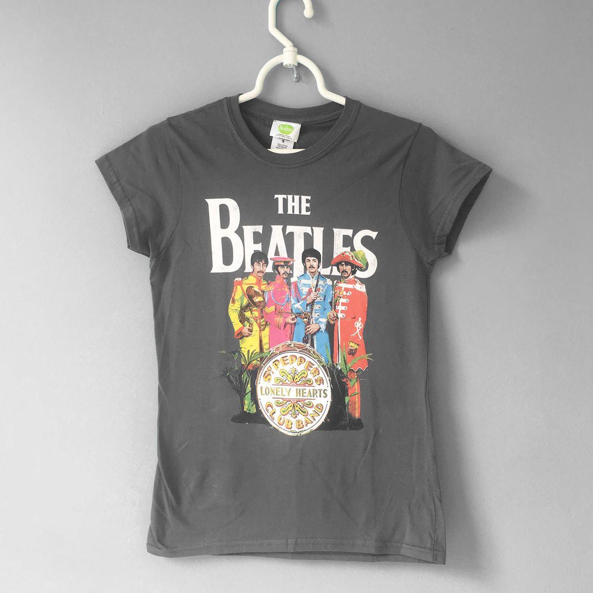 924fc42afe8 T-shirt Beatles | Camiseta Feminina Nunca Usado 26923832 | enjoei