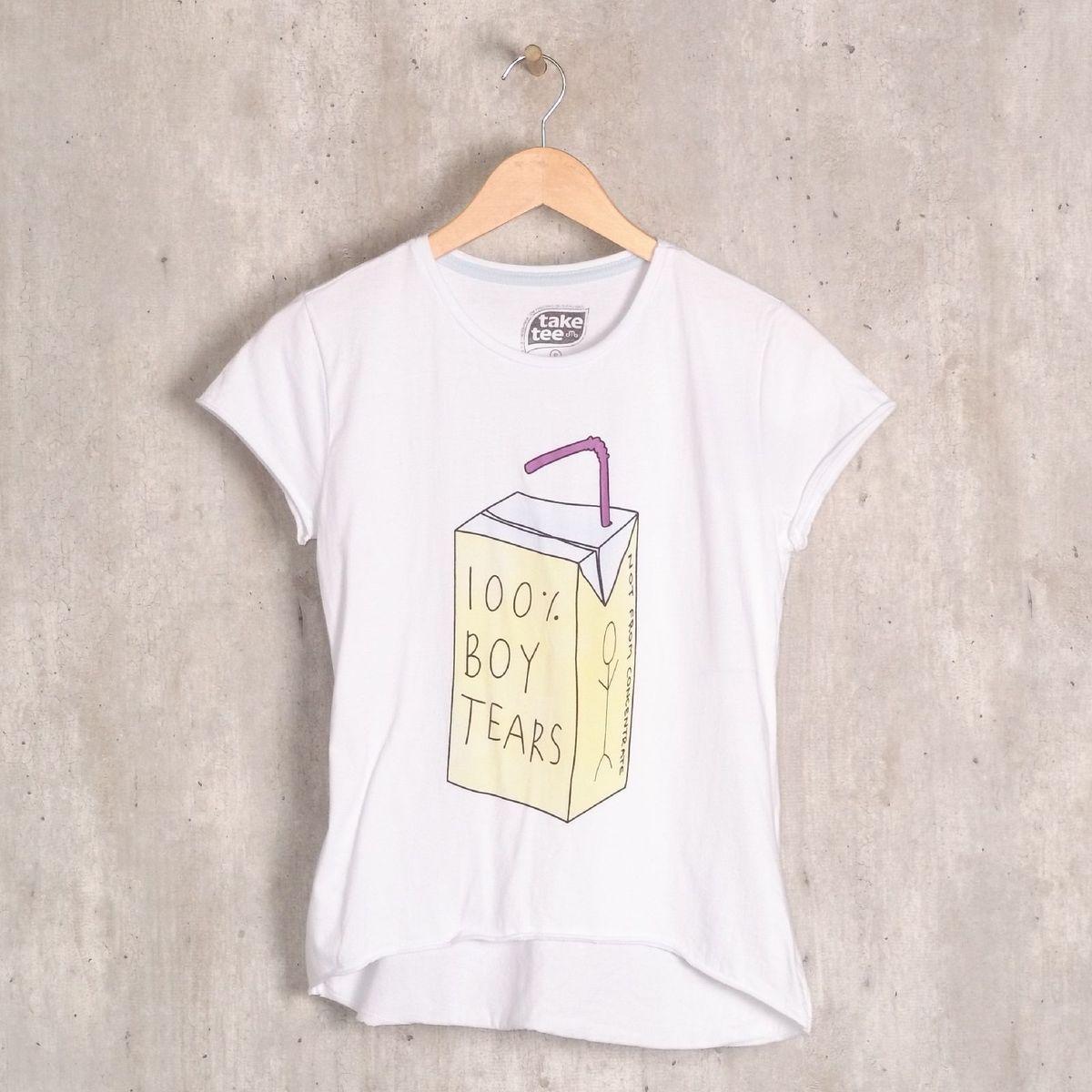 t-shirt boy tears - blusas take tee
