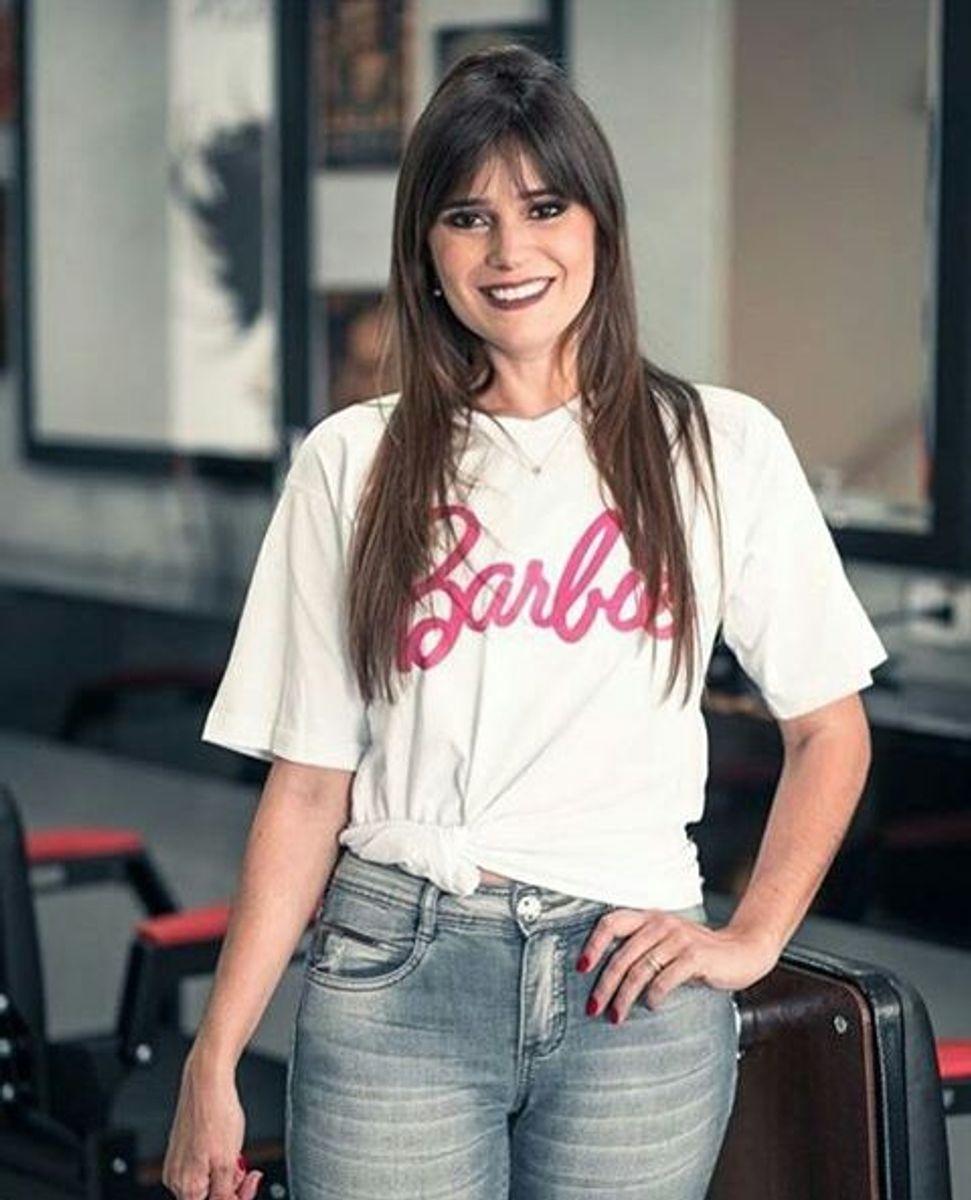 t-shirt camiseta da barbie - camisetas barbie