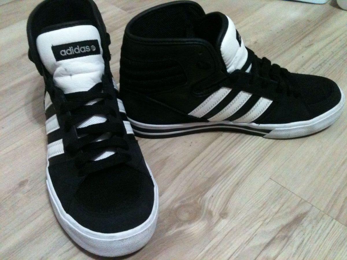 e44658a6301 tênis adidas - cano alto - novo - tênis adidas.  Czm6ly9wag90b3muzw5qb2vplmnvbs5ici9wcm9kdwn0cy83odexodyvndu4mmmxmdzjmjnmmgjhyjbhywewzwziodlizda1nweuanbn  ...