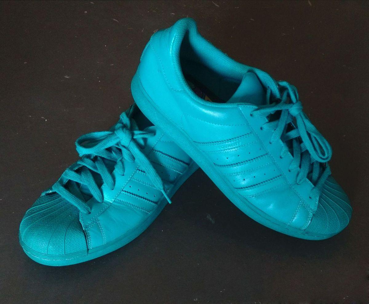 aa887fd03c tenis adidas originals superstar supercolor 43 - pharrell williams - tênis  adidas originals pharrell williams