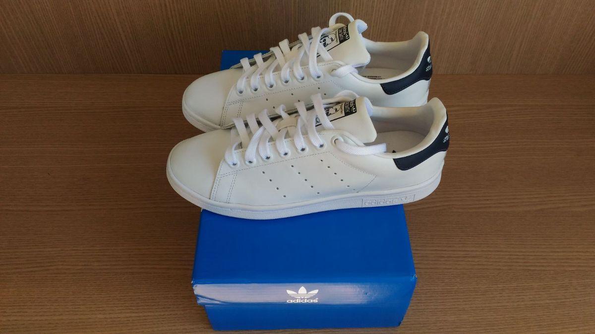 6f36a91f412 tênis adidas stan smith original 36 - tênis adidas