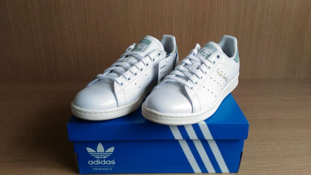 84f05cecdf621 tênis adidas stan smith original tamanho 36 - tênis adidas