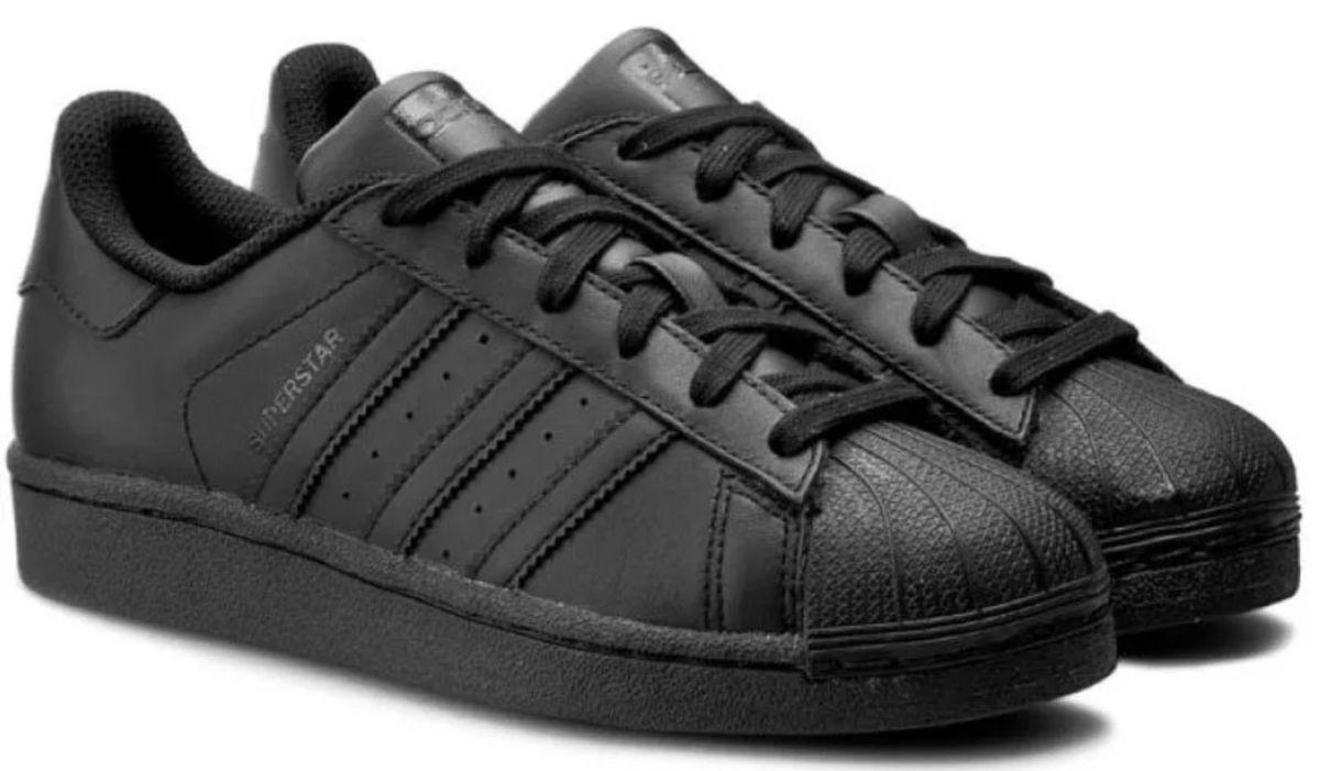5b2e5db9d8 tenis adidas superstar originals preto slim - tênis adidas