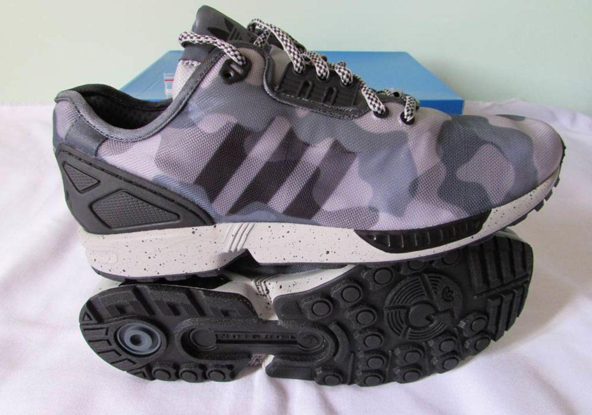 Tênis Adidas Zx Flux Decon Camuflado 41 Casual Fashion  e112f8a62b66f