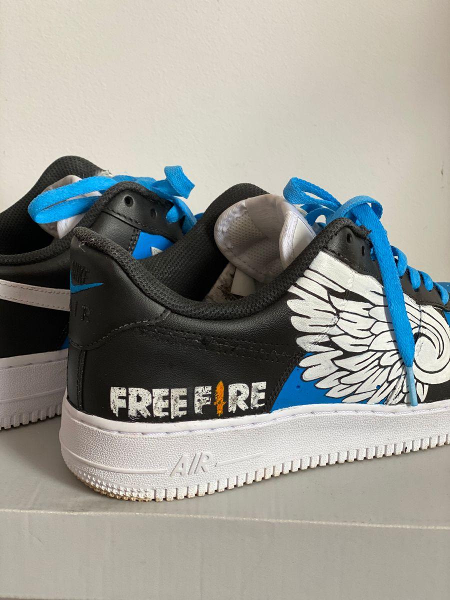 Shetland pastel la carretera  Tênis Angelical Free Fire | Tênis Masculino Nike Usado 47293578 | enjoei