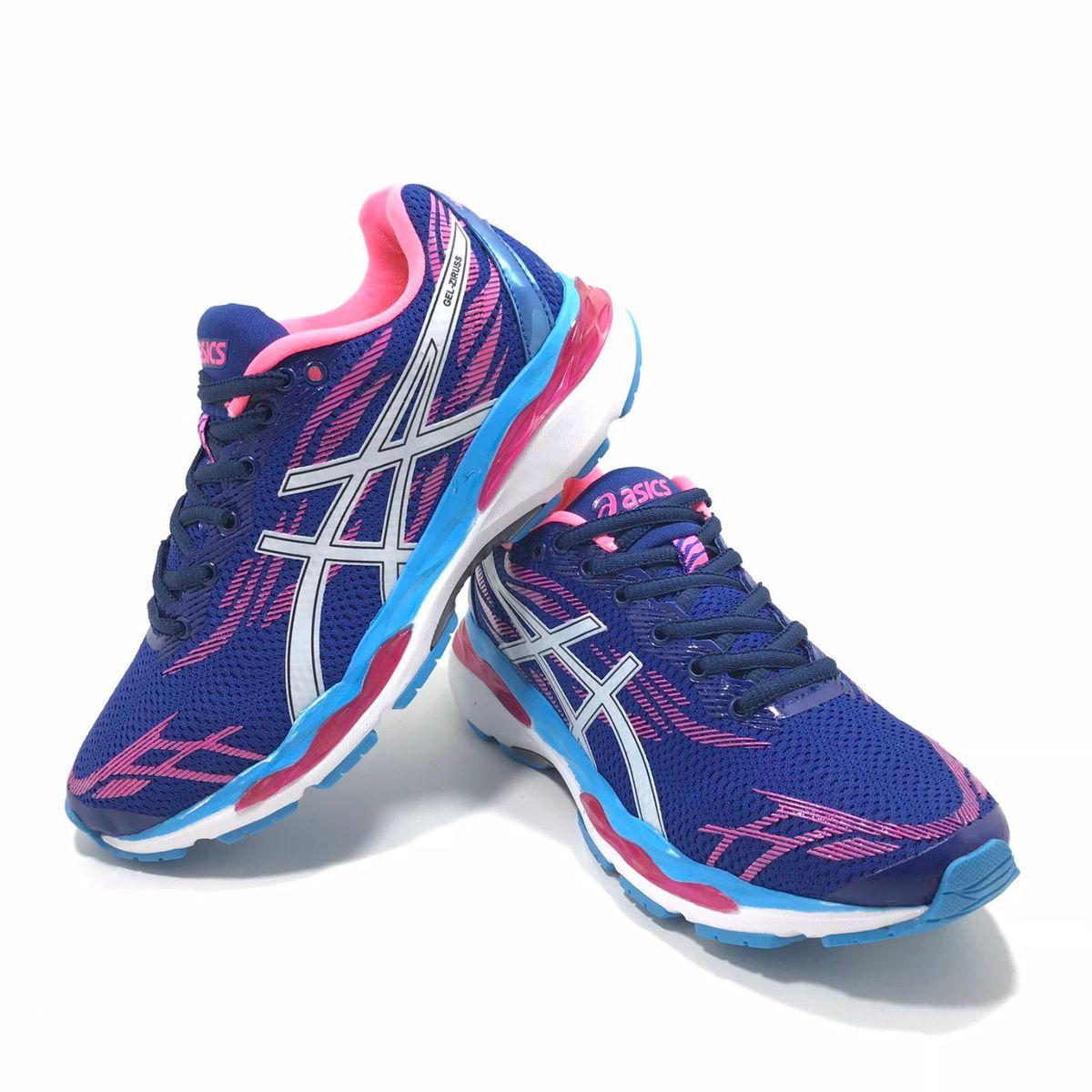9f561416aa8 Tênis Asics Gel Ziruss Feminino Novo Academia Corrida Fitness ...