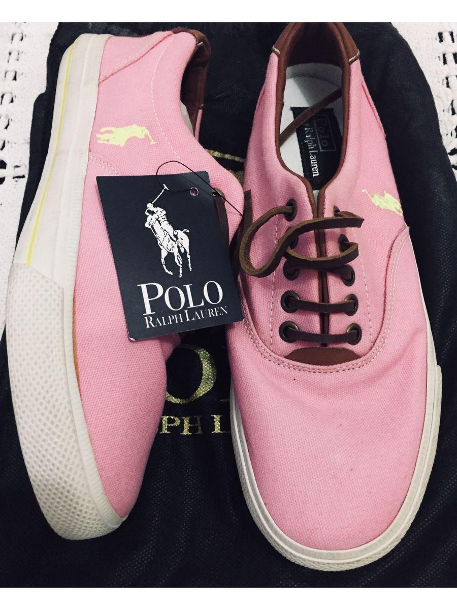 824f909e9b Tênis Casual Polo Ralph Lauren, Rosa, Número 36/37   Tênis Feminino ...