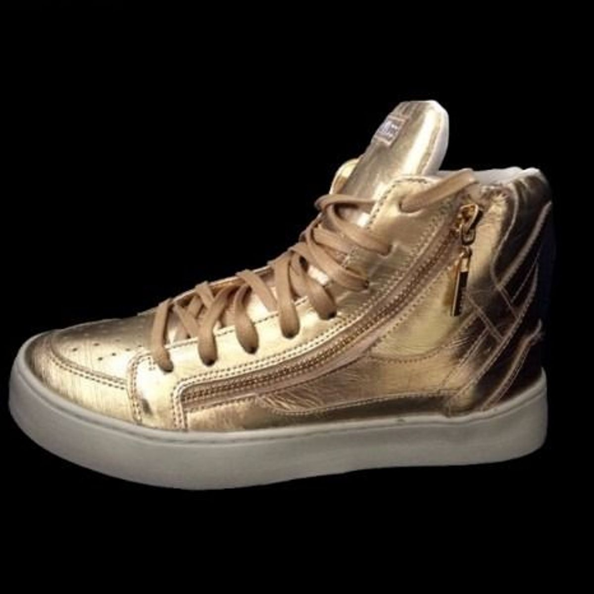 72f2056b2 Tênis Colcci Fitness Branco Dourado Feminino | Tênis Feminino Colcci Nunca  Usado 32422174 | enjoei