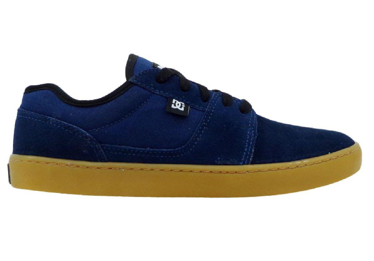 84240e945 Tênis Dc Shoes Tonik S Couro Azul Marinho | Tênis Feminino Dc Shoes ...