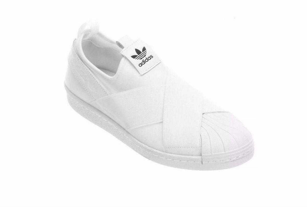 dab1afa1d tênis elastico adidas superstar slip on branco 37 - tênis adidas