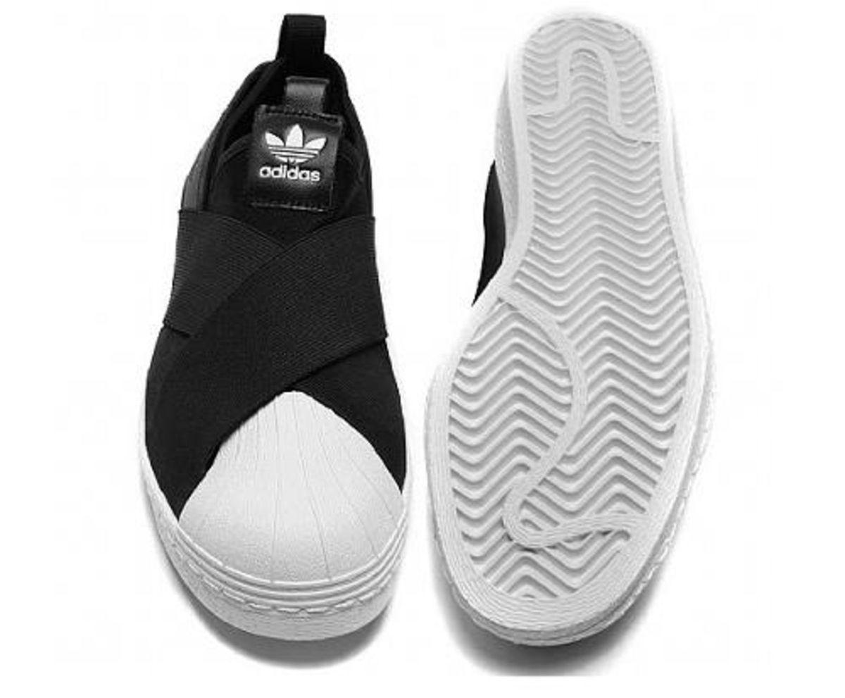 189e77788a7 tênis elastico adidas superstar slip on preto - tênis adidas