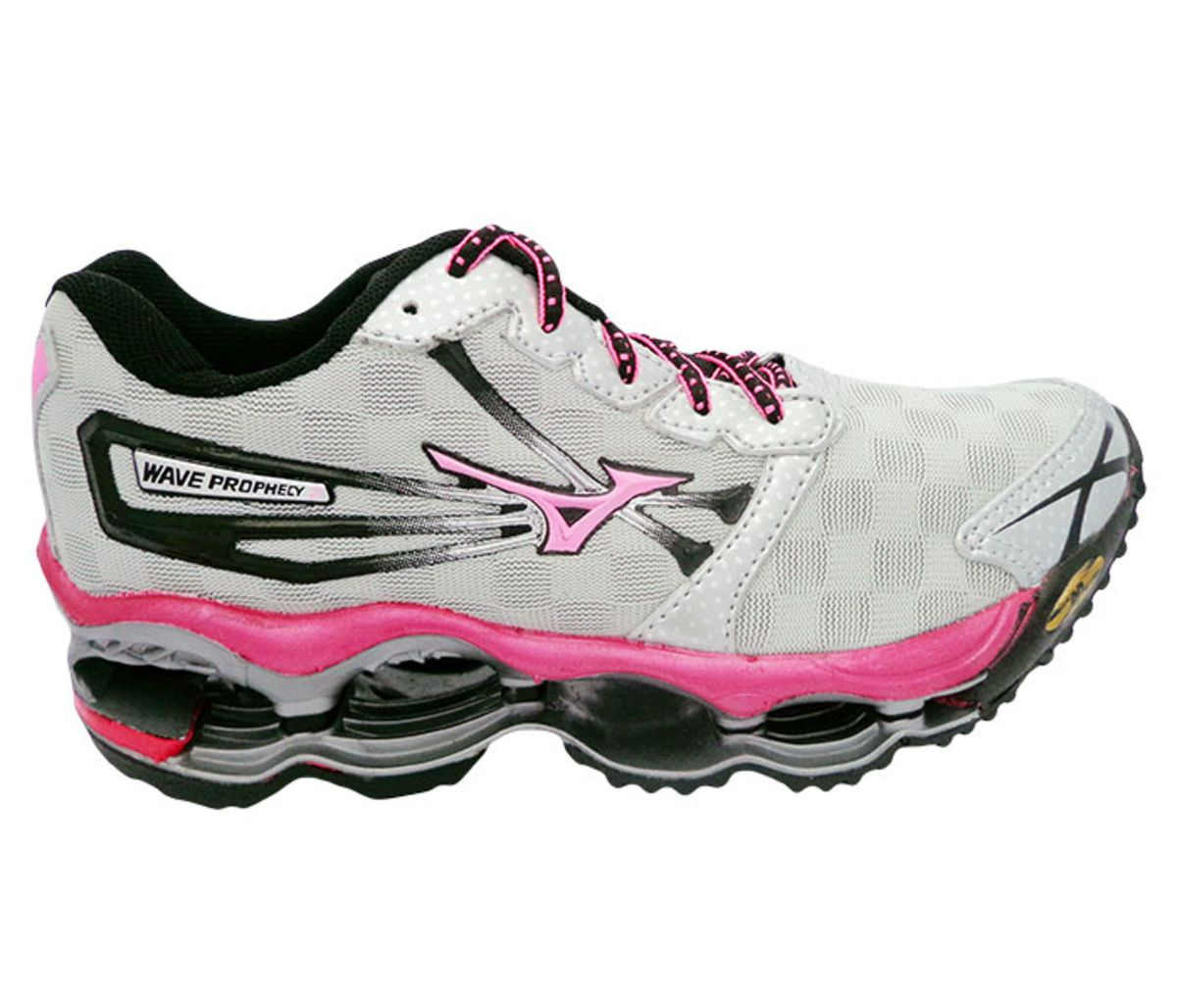 best cheap 93a38 e7d0b Tênis Feminino Mizuno Wave Prophecy 2 Original