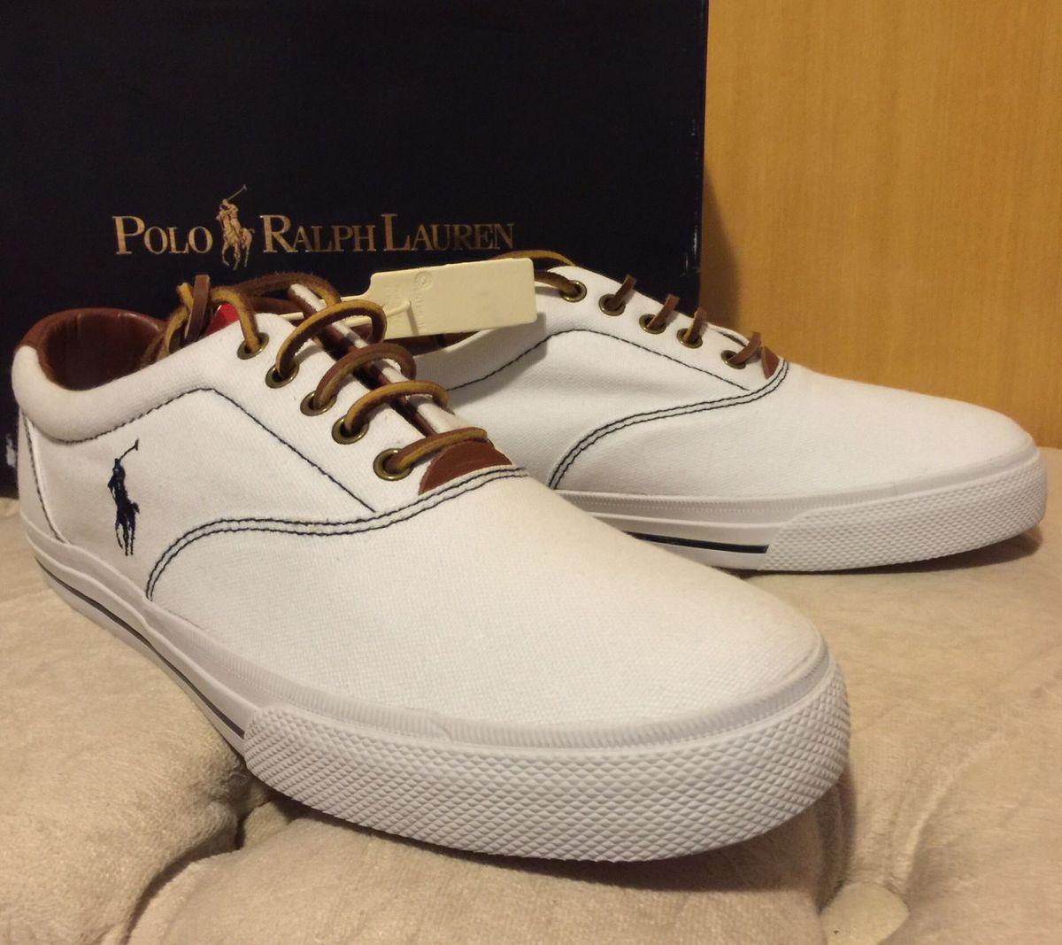 f0767eece0 Tênis Iate Polo Ralph Lauren | Tênis Masculino Polo Ralph Lauren ...