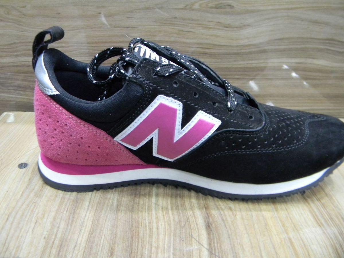 8dfdac772a4 tênis new balance 600c 35 feminino (preto rosa) - tênis new balance
