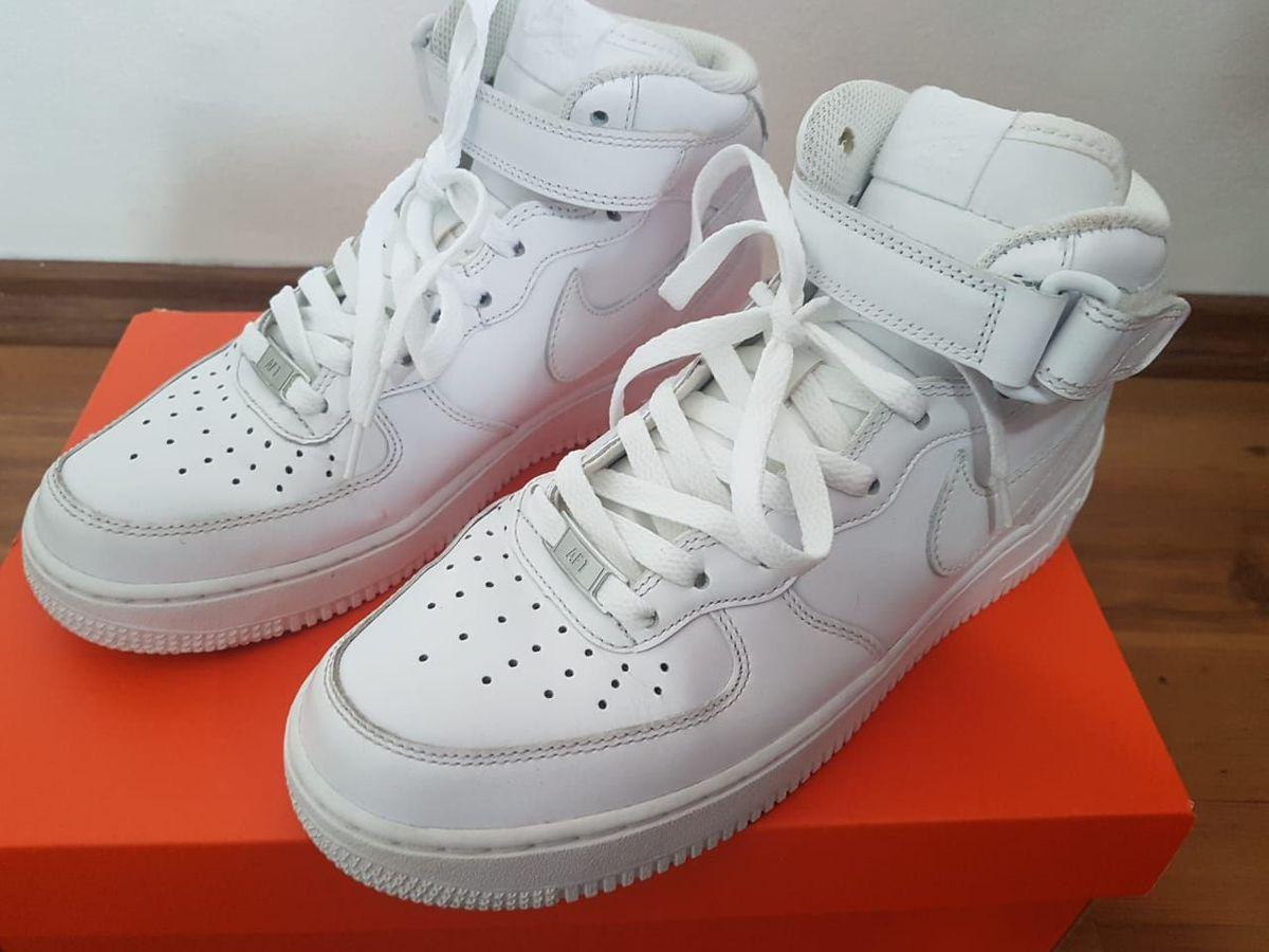 Tênis Nike Air Force 1 '07 Mid Feminino | Tênis Feminino Nike Usado 39395526 | enjoei