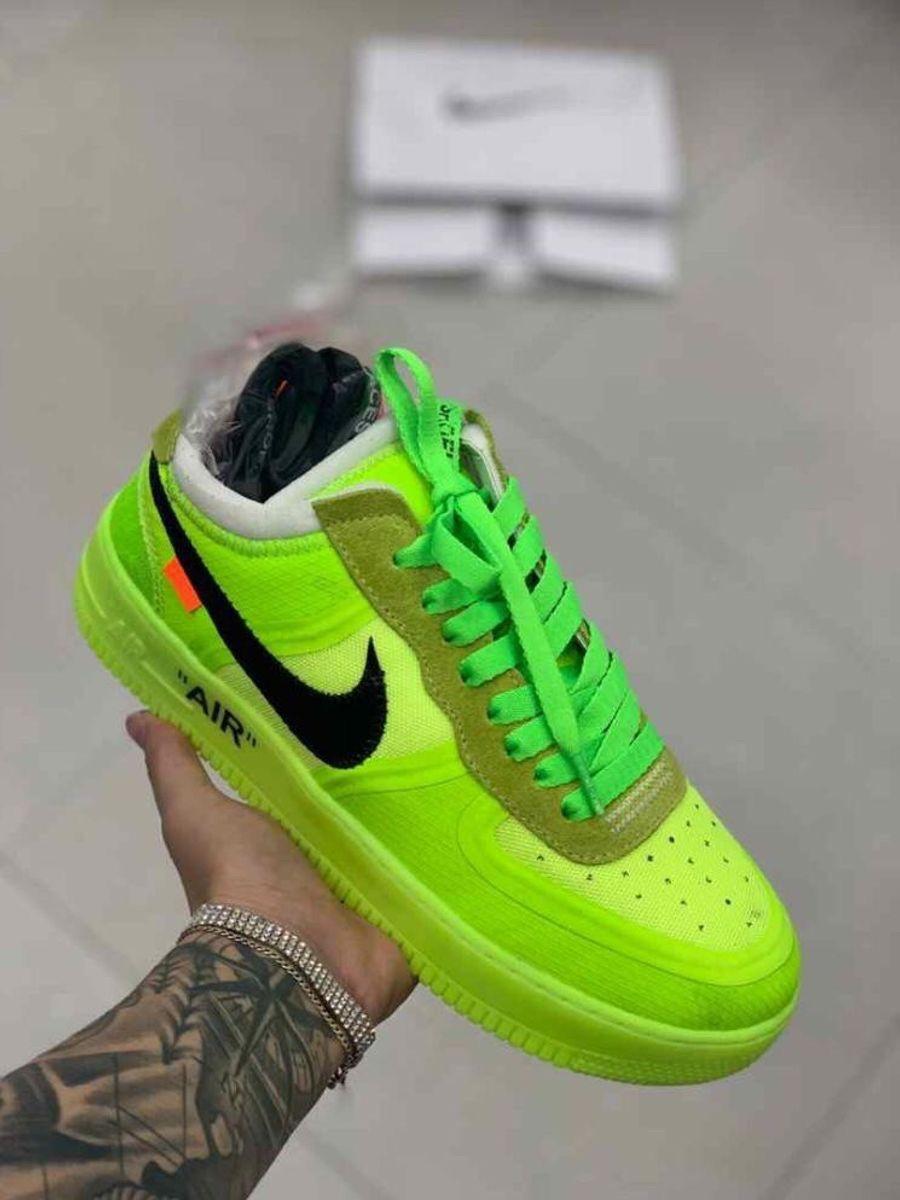 importar Porque intencional  Tênis Nike Air Force Verde Neon Original Novo Número 41 Unissex   Tênis  Feminino Nike Nunca Usado 37873254   enjoei