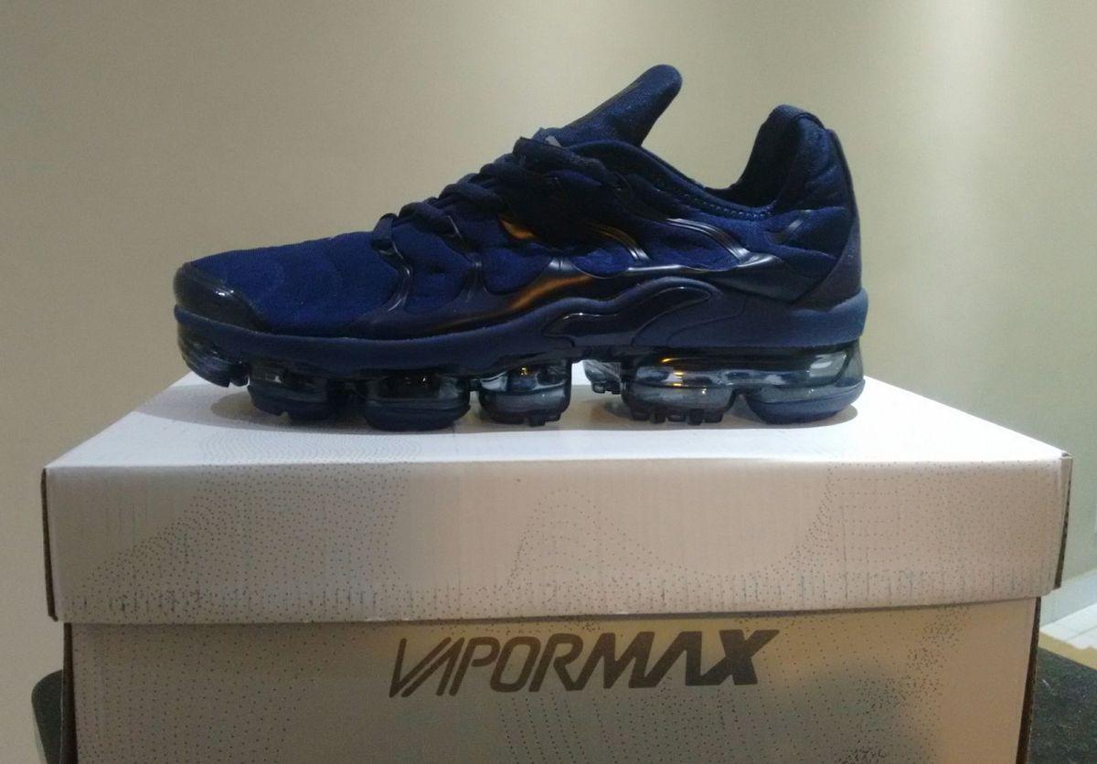 ef956813e56 tenis nike air max vapor max plus azul escuro numero 38 - tênis nike